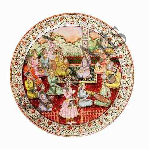 King's Musicians Marble Plate