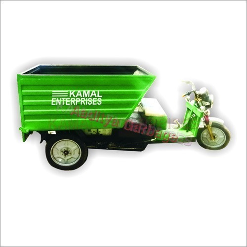 Garbage Collecting E-Rickshaw