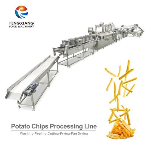 Potato Chip Washing and Cutting machine
