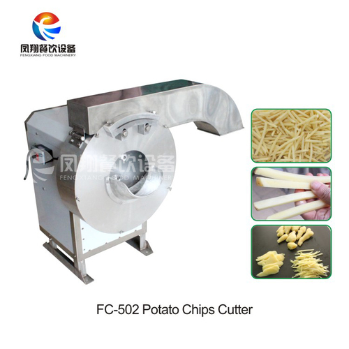 French fries cutting machine