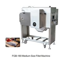 Fish filleting machine
