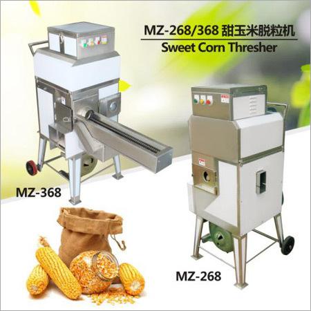 Sweet Corn Thresher Capacity: 300-400 Kg/Hr