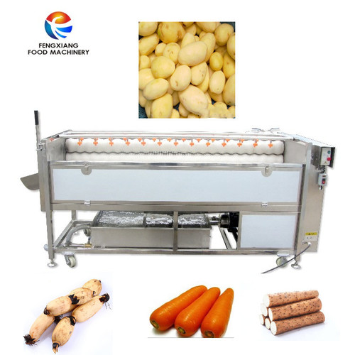 Potato Washing and Polishing Machine