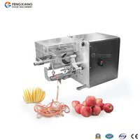 Automatic Apple Peeling Coring Cutting Machine