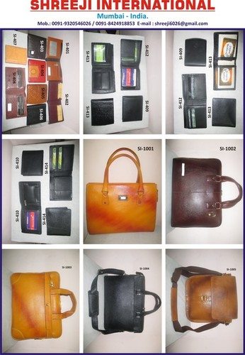 Leather Laptop Bags and Portfolio Bags