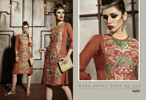 Shop Online Embroidered Kurti