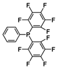 Decafluorotriphenylphosphine solution