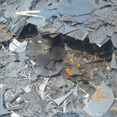Blue Steel Metal Scrap