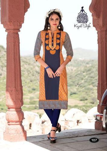 Kajal Style Sparkle Vol 2 Kurti Wholesale