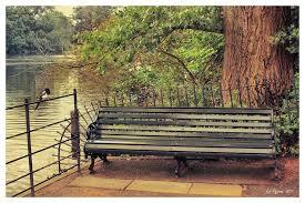 Traditional Park Bench