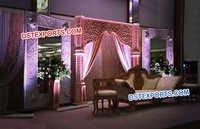 Modern Wedding Fiber Carved Backstage Panels