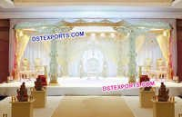 Heavy Wooden Hand Carved Mandap