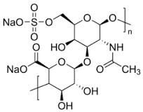 Dermatan sulfate and oversulfated chondroitin sulfate