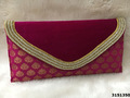 Ethnic Velvet Clutch Bag