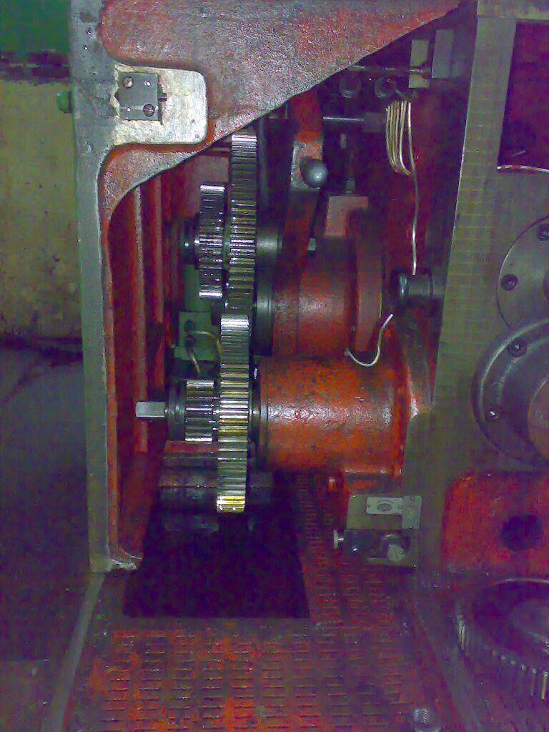 Russian Gear Hobbing Machine