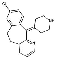 Desloratadine for system suitability