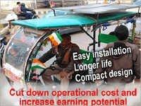 E-Rickshaw Solar Kit