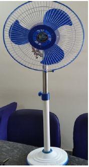 Solar Pedestal Fan with Double Ball bearing