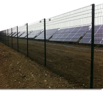 Solar Security Fences