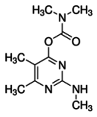 Desmethyl-formamido-pirimicarb