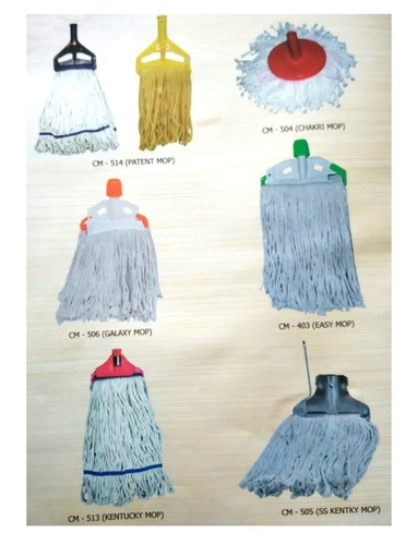 Plastic Klip and Fit mop