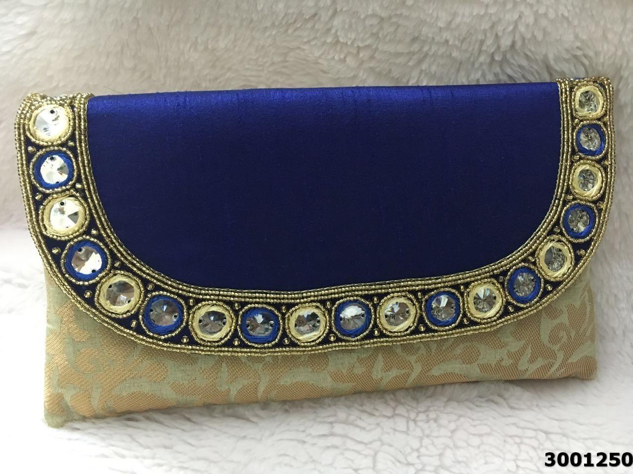 Designer Ethnic Ladies Clutch Bag