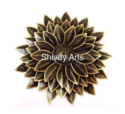 Metal Iron Flower Floral Wall Decor Wall Hanging
