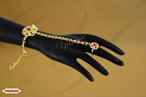 Flower Design Finger Handsets