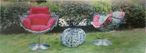 Modern Designer Outdoor Furniture Set with Hydraulic Lift