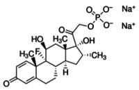 Dexamethasone sodium phosphate for peak identification