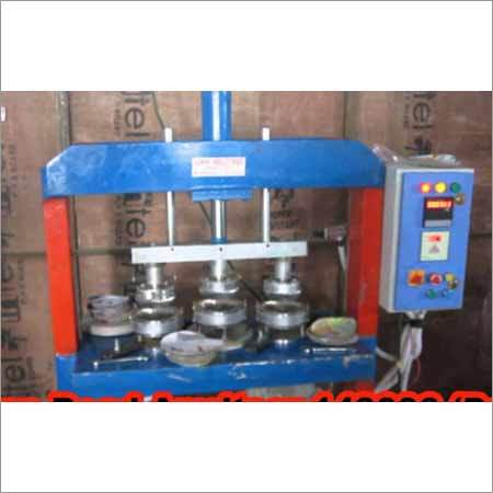 Hydraulic Single Die Leaver System Paper Plate Making Machine
