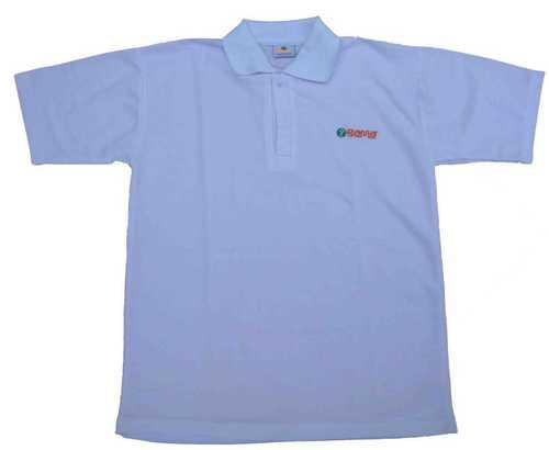 Cricket Pique T-Shirt Cotton Mix Polyester