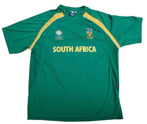 Cool Dry Cricket Supporters T-Shirt Polyester