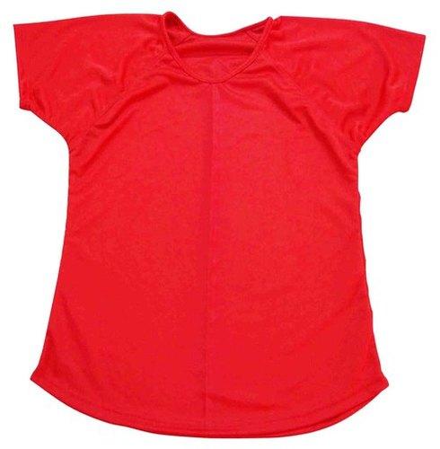 Women T-Shirt Polyester Round Neck