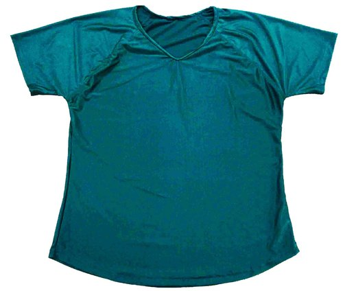 Women T-Shirt Cotton V-Neck