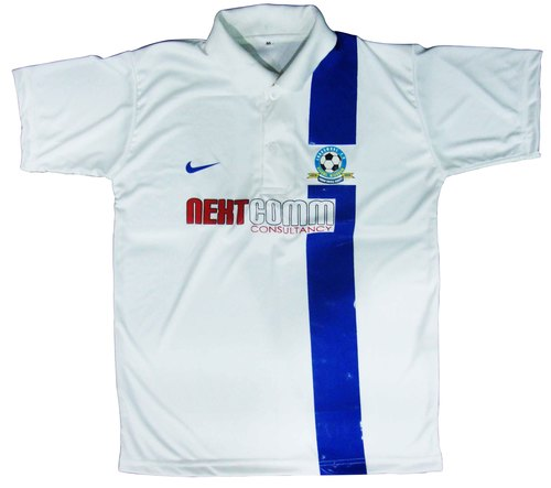 Football Jersey with Collar