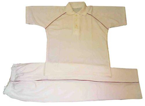 Cricket Set White Polyester