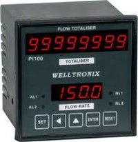 Flow Rate Totalizer with Indicator
