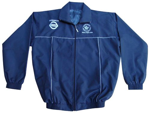 Football Jacket in Micro Fiber