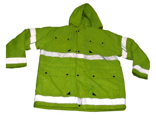 Reflective Safety Jacket with Hood