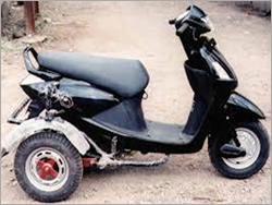 Motor Bike For Disabled