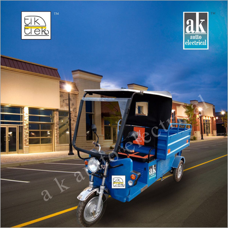 Electric Loading Rickshaw