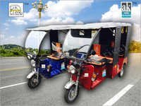 2 Seater Electric Rickshaw