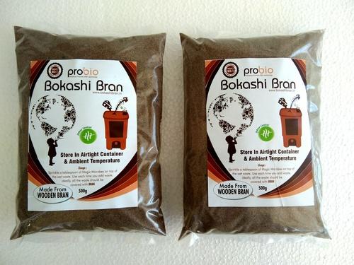 Wooden Bokashi Bran