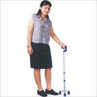 Rehaid Crutch Stick Tripoid