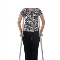 Invalid Underarm Auxiliary Crutches Pair