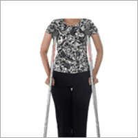 Invalid Underarm Auxiliary Crutches Pair