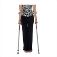 Invalid Forearm Elbow Crutches Pair