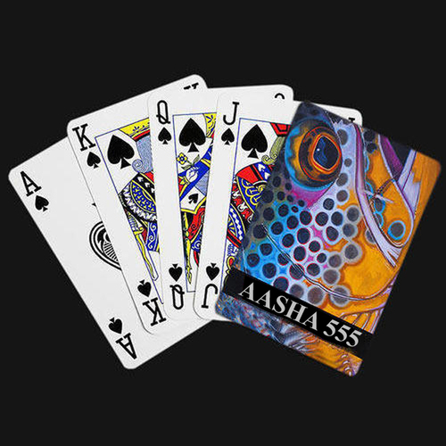 Aasha 555 Marked Playing Cards LQ