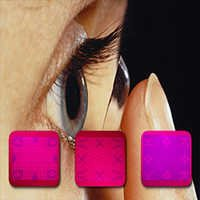 Secret Invisible Playing Cards Contact Lenses